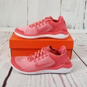 NIKE Free RN 2018 Women's Running Shoes Pink